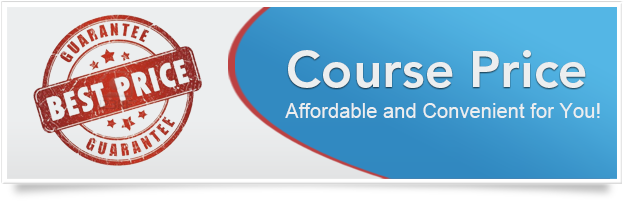 Course Price Affordable and Convenient for You!